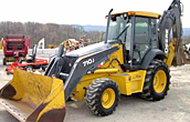 Used backhoes
