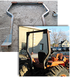Kubota rollover protective structures