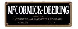 Antique McCormick Deering tractors