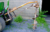 Used Post Hole Diggers